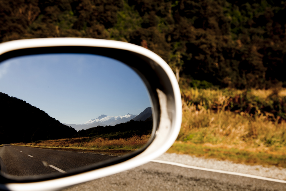 Side Mirror Landscape New Zealand (16)
