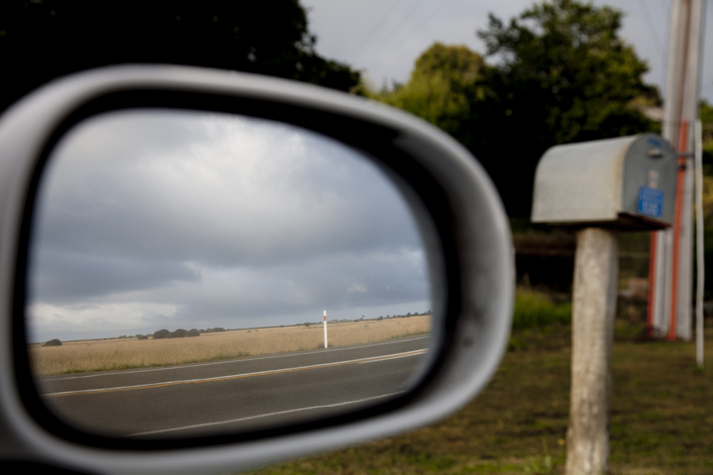 Side Mirror Landscape New Zealand (5)