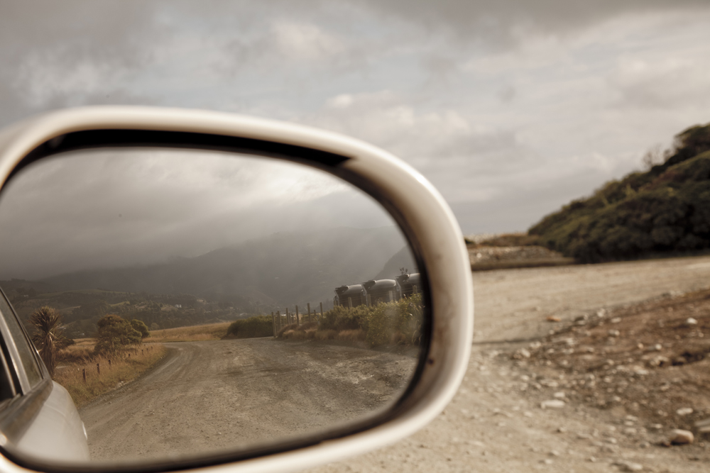 Side Mirror Landscape New Zealand (6)