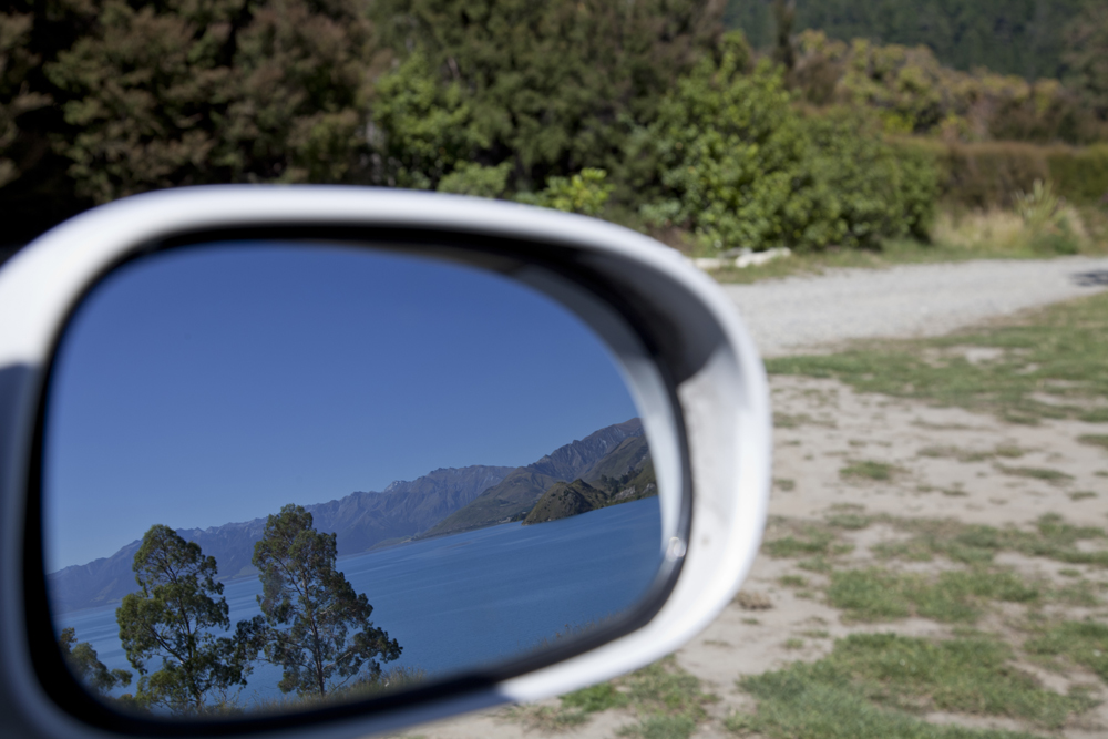 Side Mirror Landscape New Zealand (19)