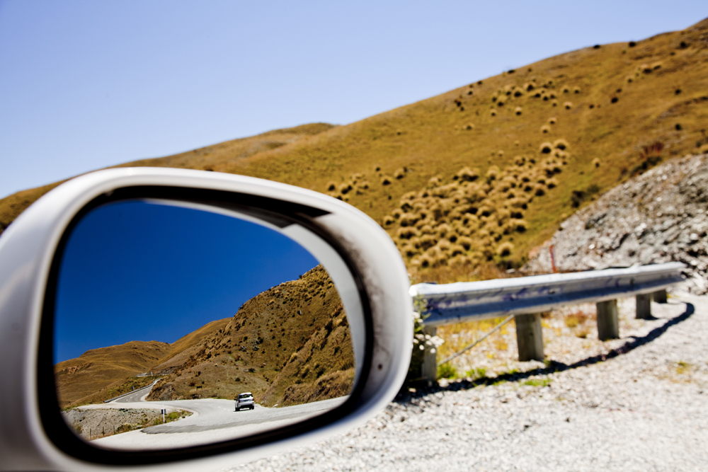 Side Mirror Landscape New Zealand (17)