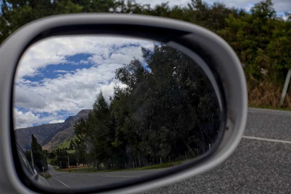 Side Mirror Landscape New Zealand (18)