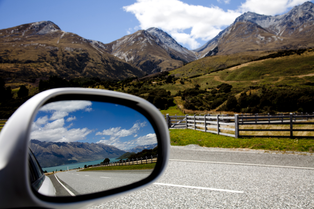 Side Mirror Landscape New Zealand (27)