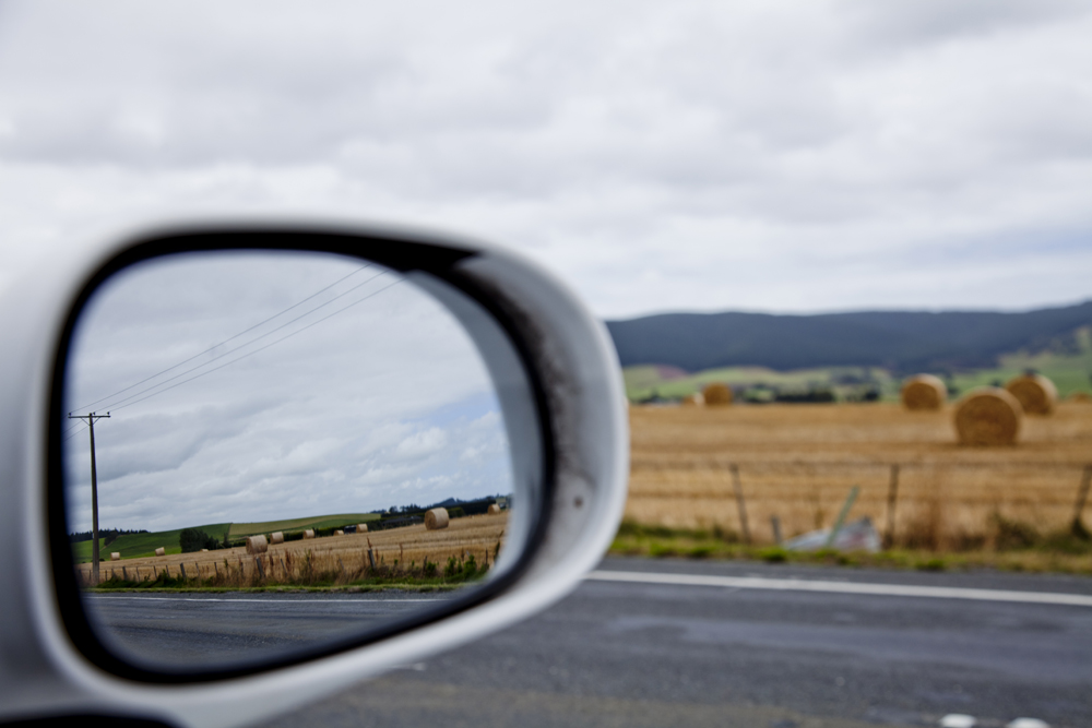 Side Mirror Landscape New Zealand (25)