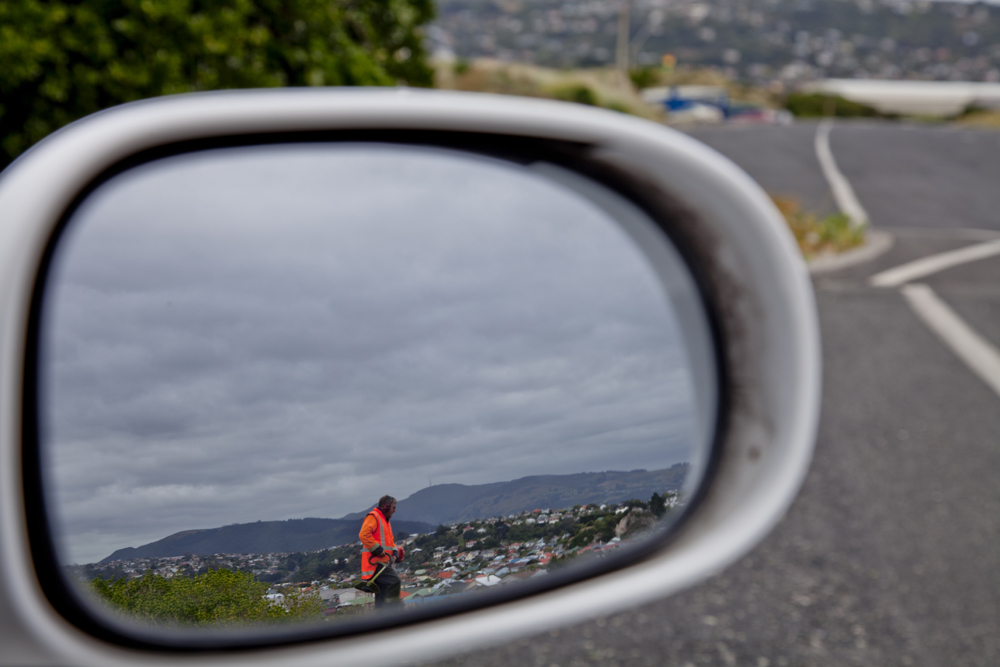 Side Mirror Landscape New Zealand (22)