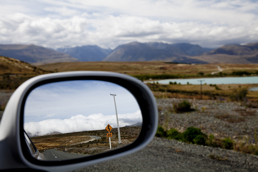 Side Mirror Landscape New Zealand (23)