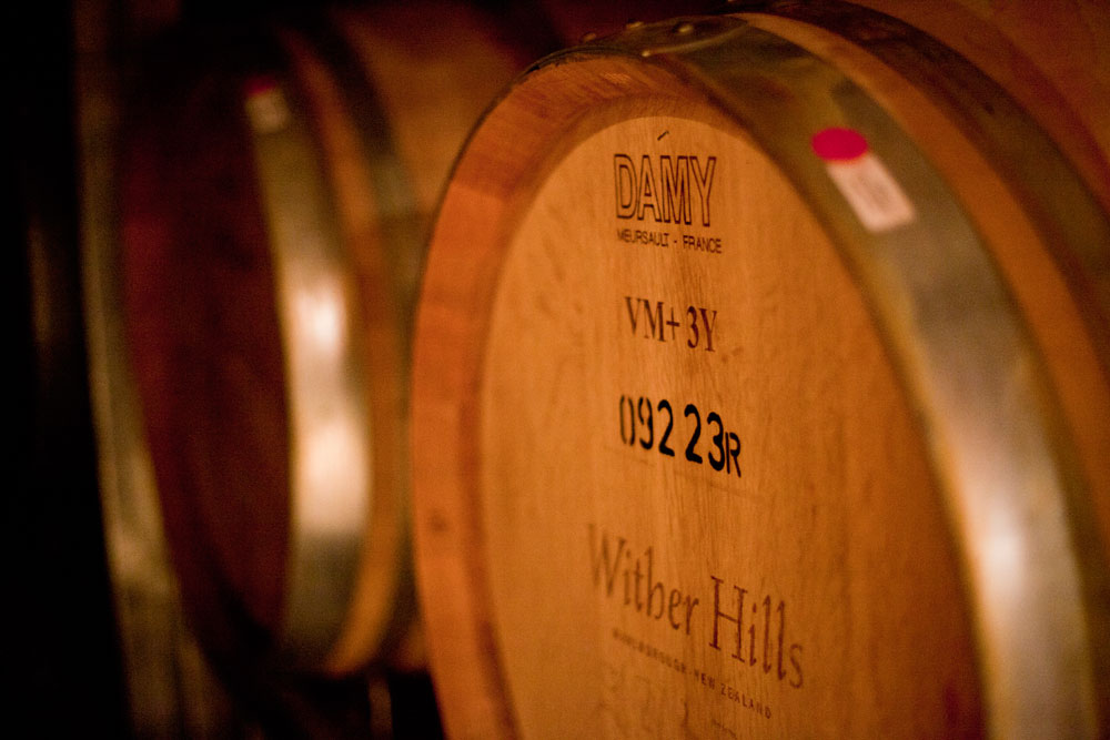 Wither Hills Wine Barrell