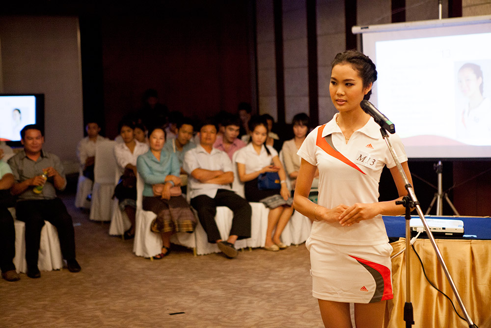 Behind the Scenes at Miss Laos 2013